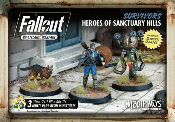 Fallout: Wasteland Warfare - Survivors Heroes of Sanctuary Hills