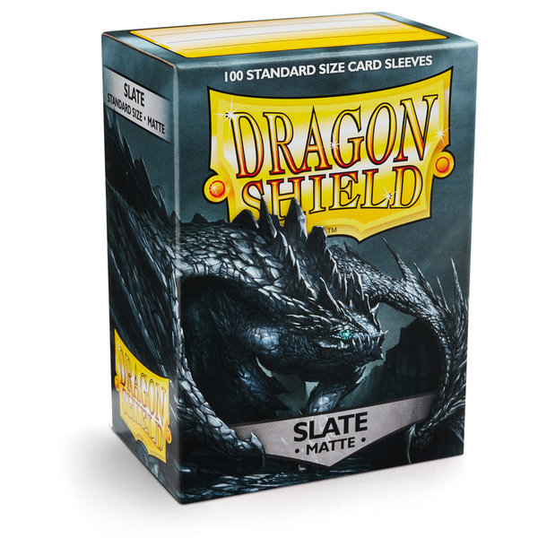 Dragon Shield Matte: Slate (100 Stück)