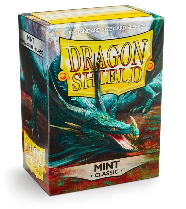 Dragon Shield: Mint (100 Stück)