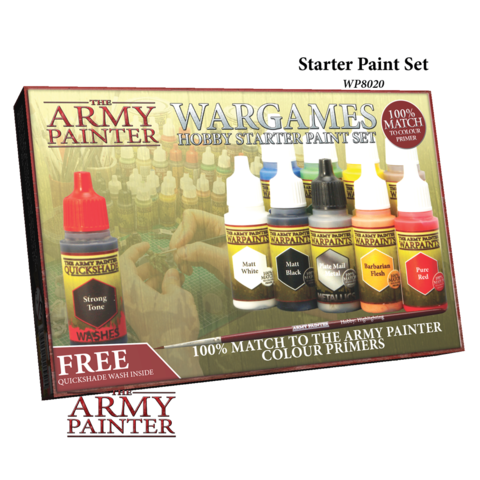 Warpaints Starter Paint Set