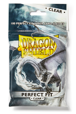 Dragon Shield: Perfect Fit - Klar/Klar (100 Stück)