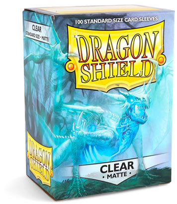 Dragon Shield Matte: Klar (100 Stück)