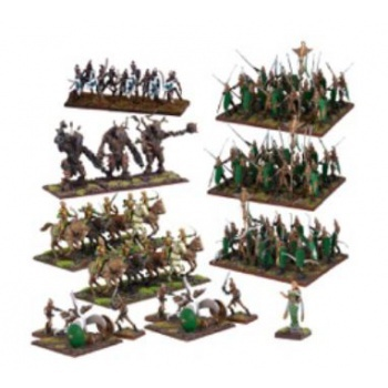 Kings of War - Elf Mega Army (Re-package & Re-spec) - EN