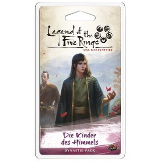 Legend of the 5 Rings LCG: Die Kinder des Himmels Dynastie-Pack (Erbfolge-4) (DE)