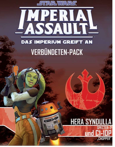 Imperial Assault Hera Syndulla und C1-1OP DE