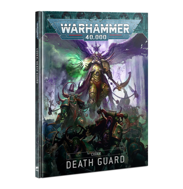 Warhammer 40K Codex Death Guard DE