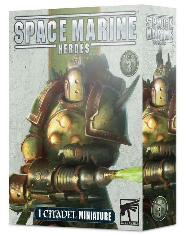 Space Marine Heroes Series 3 Death Guard Komplett